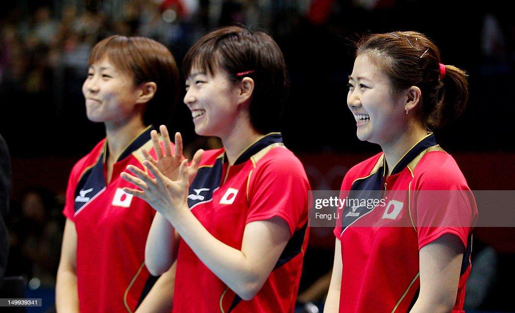 Olympics Day 11 - Table Tennis : News Photo