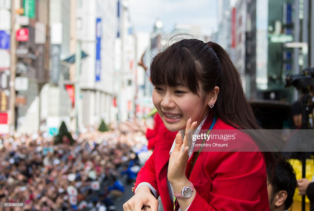 Japanese Olympic Medalists Parade : ニュース写真