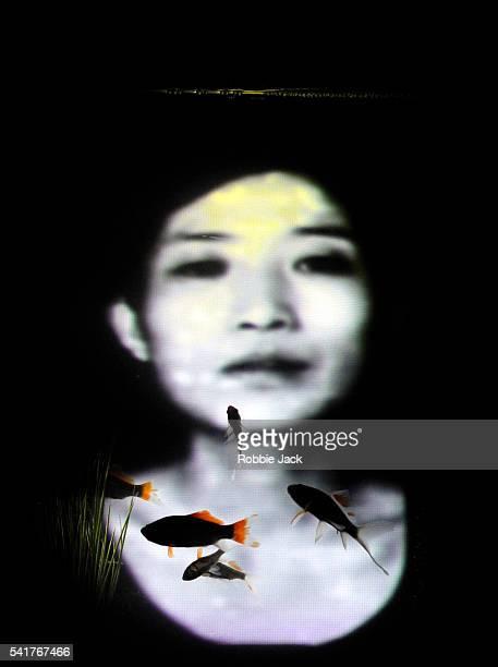 Ai Kiyono as Kumiko in Stephen Earnhart and Greg Pierce adaptation of the novel by Haruki Murakami 'The WindUp Bird Chronicle' directed by Stephen...