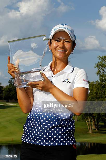 Ai Miyazato of Japan during final round of the Walmart NW Arkansas Championship at Pinnacle Country Club on July 1 2012 in Rogers Arkansas