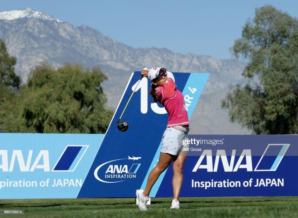 ANA Inspiration - Round One : News Photo