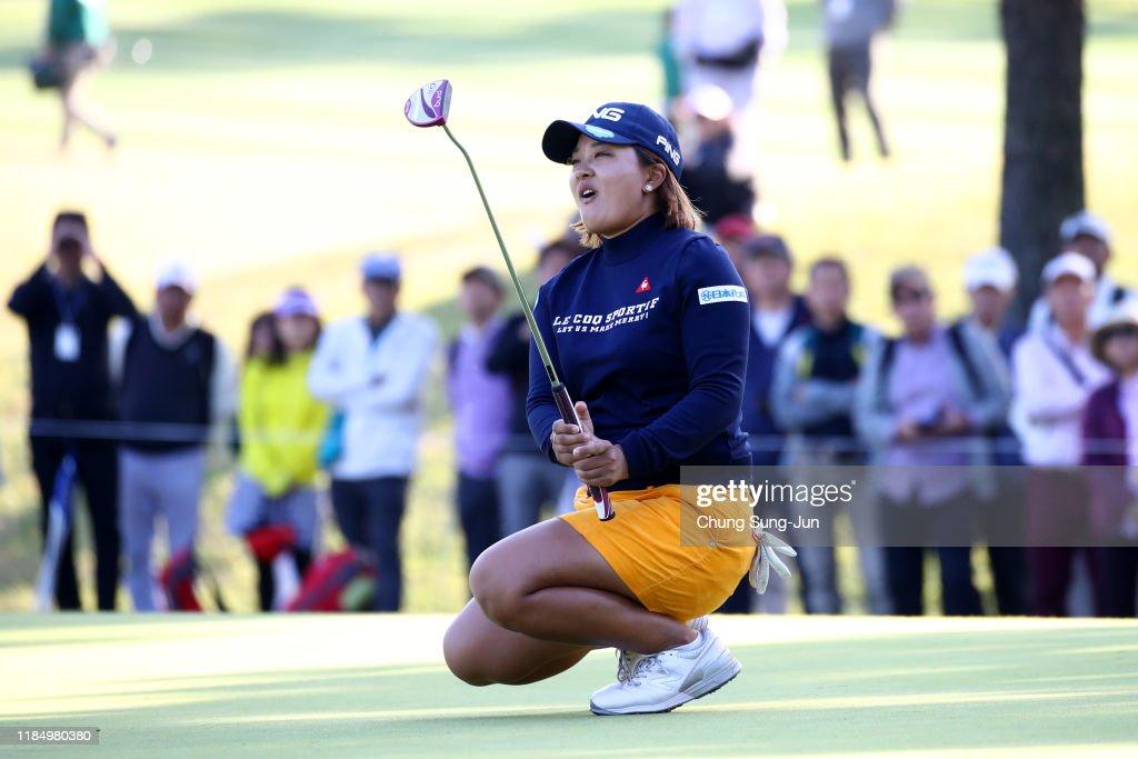 Mitsubishi Electric Ladies - Round Two : News Photo