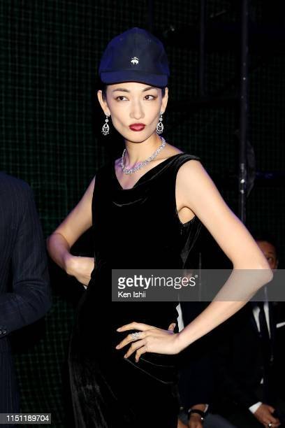 Ai Tominaga attends the Brooks Brothers special runway show celebrating its 40th anniversary in Japan on May 23 2019 in Tokyo Japan