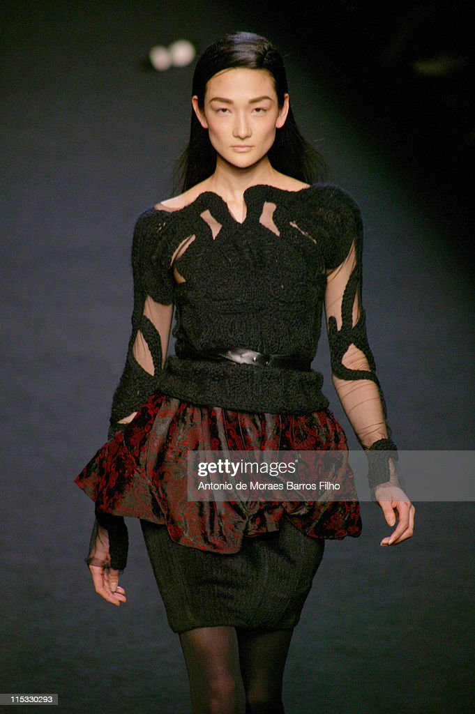 Paris Fashion Week Fall/Winter 2007 - Sophia Kokosalaki - Runway