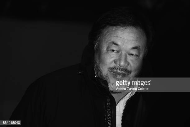 Ai Weiwei attends the 'Django' premiere during the 67th Berlinale International Film Festival Berlin at Berlinale Palace on February 9 2017 in Berlin...