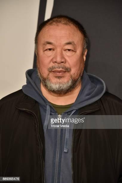 Ai Weiwei attends the European Film Awards 2017 on December 9 2017 in Berlin Germany