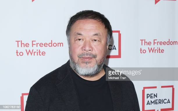 Ai Weiwei attends the PEN America 2018 LitFest Gala held at the Beverly Wilshire Four Seasons Hotel on November 02 2018 in Beverly Hills California