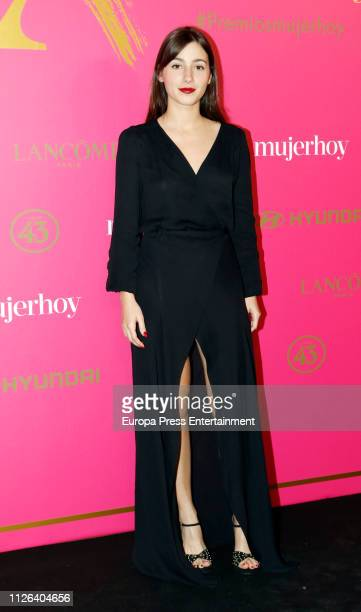 Aia Kruse attends 'MujerHoy' awards 2019 at Casino de Madris on January 30 2019 in Madrid Spain