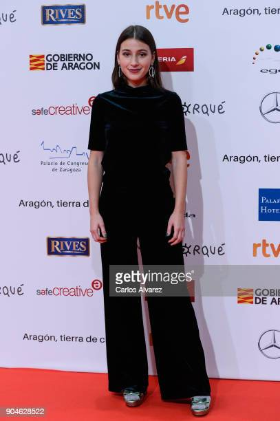 Aia Kruse attends the 23rd edition of Jose Maria Forque Awards at Palacio de Congresos on January 13 2018 in Zaragoza Spain
