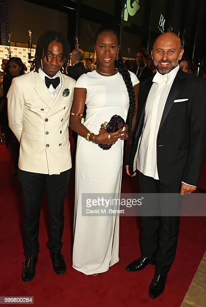 Aicha McKenzie attends the GQ Men Of The Year Awards 2016 at the Tate Modern on September 6 2016 in London England
