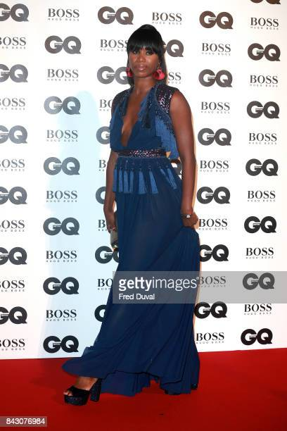 Aicha McKenzie attends the GQ Men Of The Year Awards at Tate Modern on September 5 2017 in London England