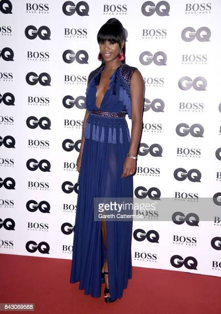 Aicha Mckenzie attends the GQ Men Of The Year Awards at the Tate Modern on September 5 2017 in London England