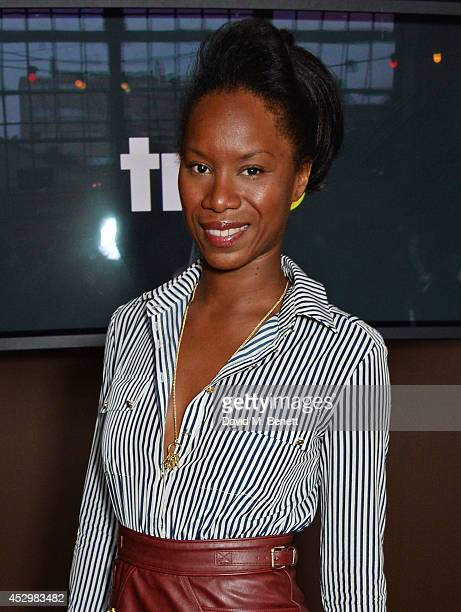 Aicha McKenzie attends the star studded VIP launch party for truTV a brand new larger than life TV channel launching on 4th August at the truMan...