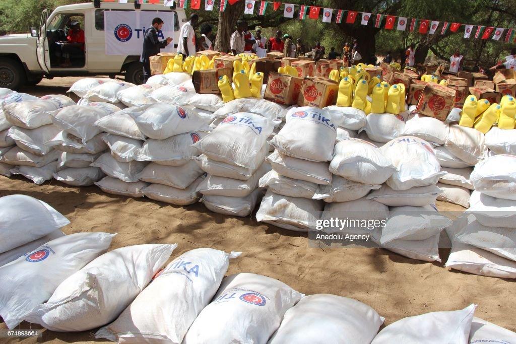 Drought-stricken Kenya benefits from Turkish food aid : Nieuwsfoto's