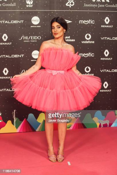 Aida Domenech aka Dulceida attends 'Los40 music awards 2019' photocall at Wizink Center on November 08 2019 in Madrid Spain