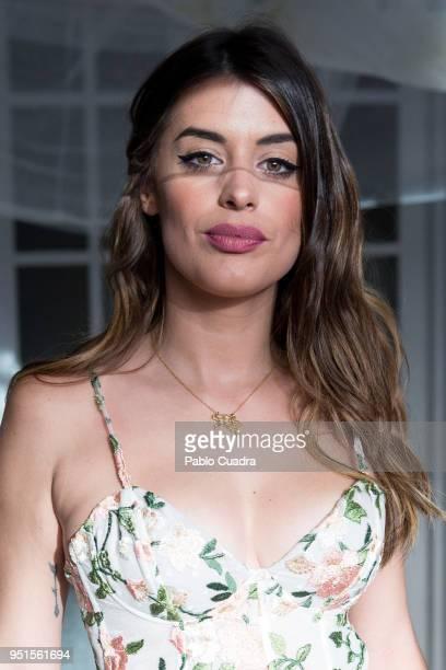 Aida Domenech aka Dulceida presents her new fragrance 'YouMe Mucho Amor' on April 26 2018 in Madrid Spain