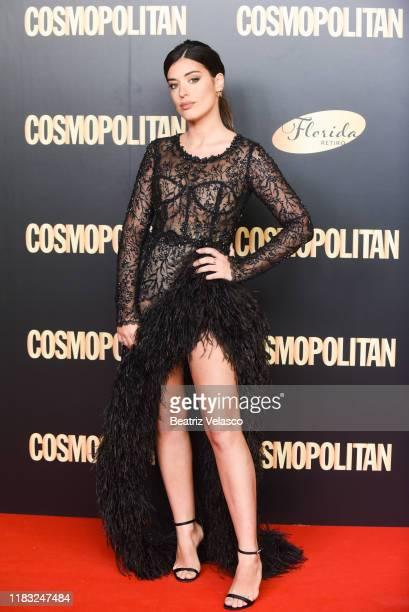Aida Domenech attends Cosmopolitan Awards 2019 on October 24 2019 in Madrid Spain