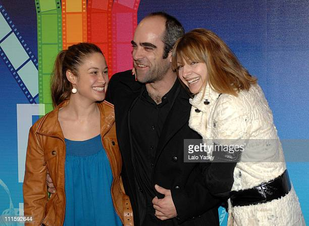 "Aida Folch, Luis Tosar and Najwa Nimri during Festival Internacional de Cine Solidario ""Las Vidas de Celia"" Photocall-January 16, 2007 at Palafox..."