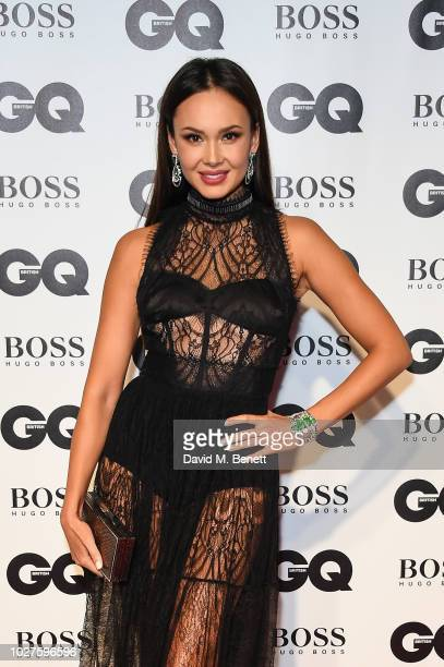 Aida Garifullina attends the GQ Men of the Year Awards 2018 in association with HUGO BOSS at Tate Modern on September 5 2018 in London England