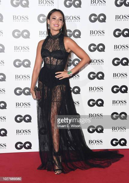 Aida Garifullina attends the GQ Men of the Year awards at the Tate Modern on September 5 2018 in London England