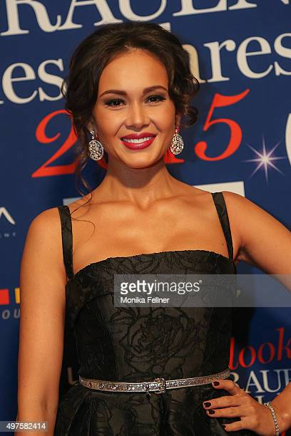 Aida Garifullina attends the Look Women Of The Year Awards 2015 at the city hall on November 17 2015 in Vienna Austria