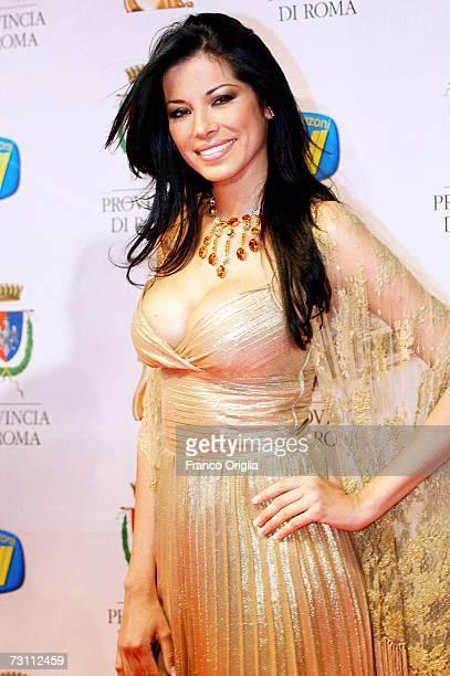 Aida Iespica attends the Italian TV Awards ''Telegatti'' at the Auditorium Conciliazione on January 25 2007 in Rome Italy