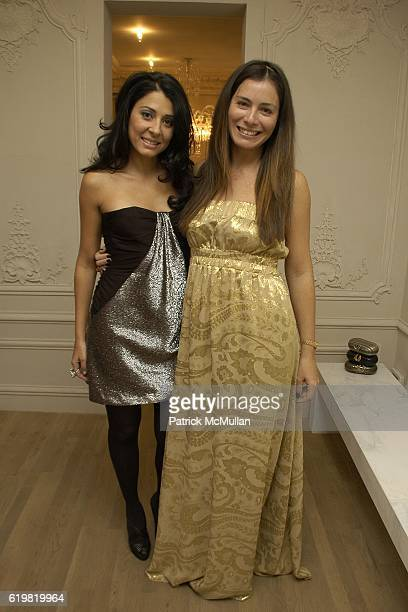 Aida Khoursheed and Renata Martins attend Grand Opening of Jay Ahr at 801 Madison Ave on October 15 2008 in New York City