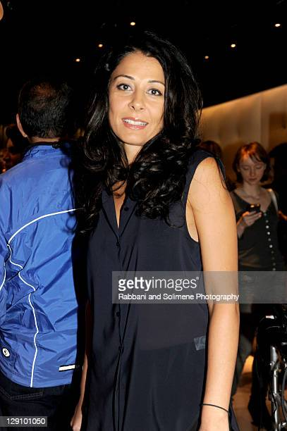 Aida Khoursheed attends JeanMichel Cazabat's Flagship NYC Store Opening Party on October 12 2011 in New York City