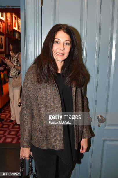 Aida Khoursheed attends John Demsey Hosts Hunt Slonem Book Signing at Private Residence on November 13 2018 in New York City