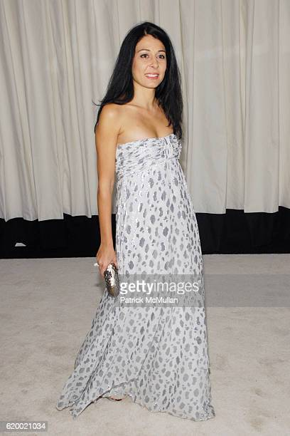 Aida Khoursheed attends The Tenth Annual WINTER WONDERLAND BALL Sponsored by CHANEL FINE JEWELRY at The New York Botanical Garden on December 5 2008...