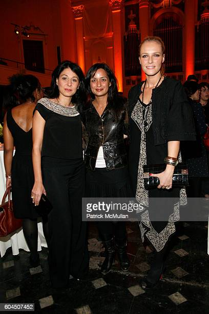 Aida Khoursheed Roopal Patel and Keren Craig attend FedEx and Diane von Furstenberg celebrate Stan Herman and his Sixteen Years as President of the...