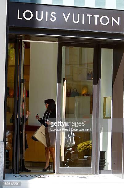 Aida Nizar is seen on May 28 2013 in Madrid Spain
