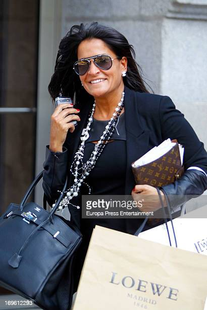 Aida Nizar Is Seen On May   In Madrid Spain