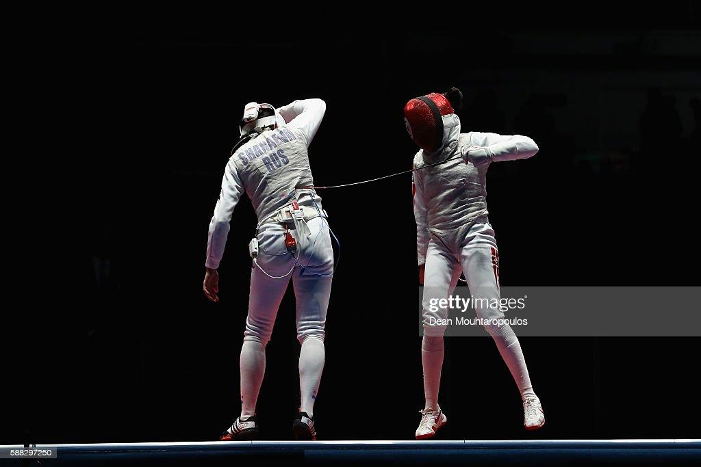 Fencing - Olympics: Day 5 : Foto jornalística