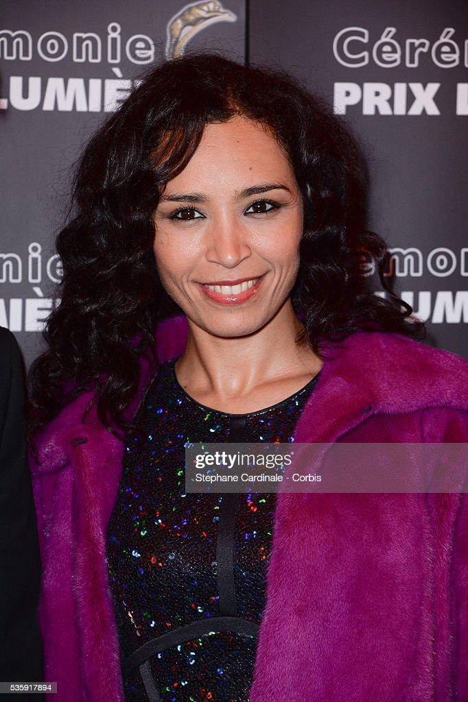 Aida Touihri attends 'Les Prix Lumieres 2014' Cinema Awards, in Paris.