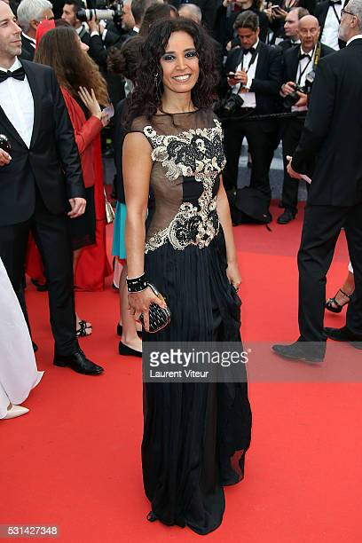 Aida Touihri attends 'The BFG ' premiere during the 69th annual Cannes Film Festival at the Palais des Festivals on May 14 2016 in Cannes