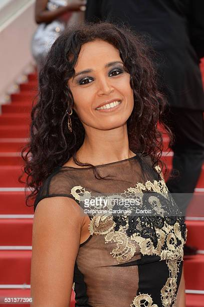 Aida Touihri attends the 'The BFG' Premiere during the annual 69th Cannes Film Festival at the Palais des Festivals on May 14 2016 in Cannes France