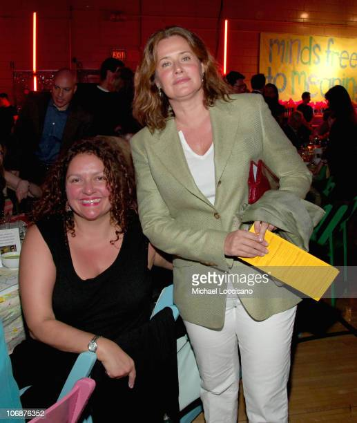 Aida Turturro and Lorraine Bracco during Police Commissioner Ray Kelly Honored at 6th Annual Publicolor Stir Splatter and Roll Benefit at Louis D...
