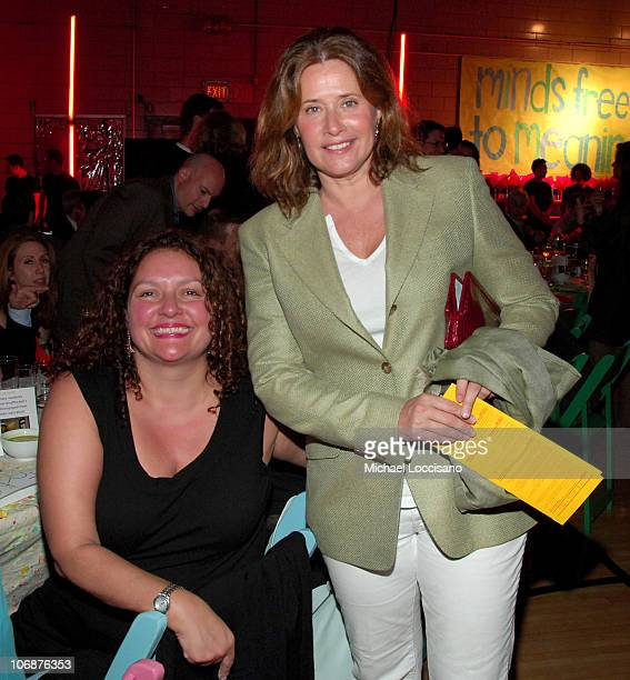 Aida Turturro and Lorraine Bracco during Police Commissioner Ray Kelly Honored at 6th Annual Publicolor 'Stir Splatter and Roll' Benefit at Louis D...