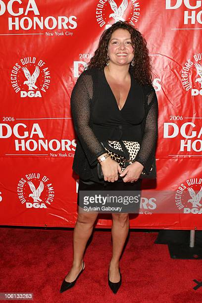 Aida Turturro during 2006 DGA Honors New York City Red Carpet at DGA Theater at 110 West 57th Street in New York City New York United States