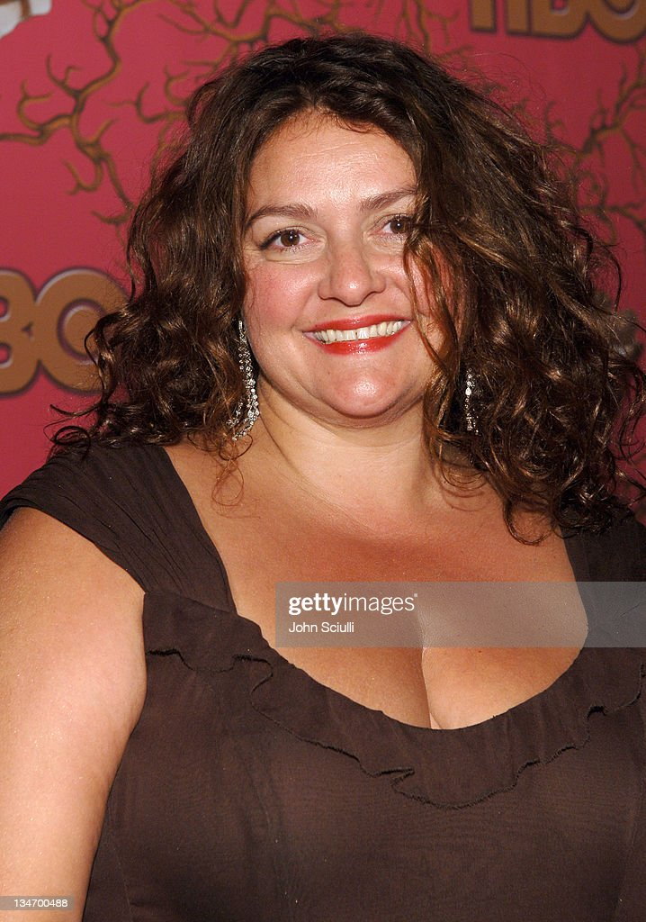 Aida Turturro during 58th Annual Primetime Emmy Awards - HBO After Party - Red Carpet and Inside at Pacific Design Center in West Hollywood, California, United States.