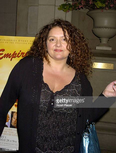 Aida Turturro during HBO Films 'Empire Falls' New York City Premiere at Metropolitan Museum of Art in New York City New York United States