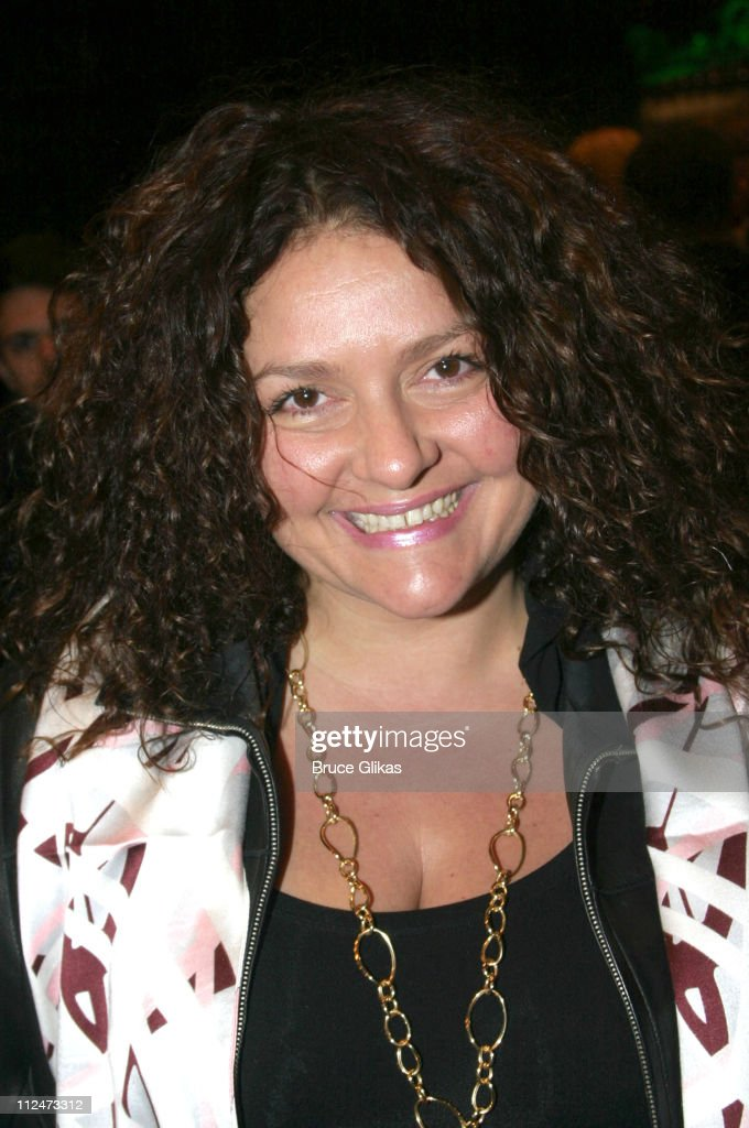 Aida Turturro during Opening Night of 'Night, Mother' on Broadway at The Royale Theater then Tavern on The Green in New York, NY, United States.