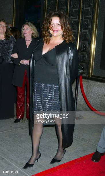 Aida Turturro during 'The Sopranos' Fifth Season Premiere at Radio City Music Hall in New York City New York United States