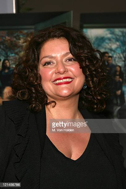 Aida Turturro during 'The Sopranos' Sixth Season World Premiere at Museum of Modern Art in New York New York United States