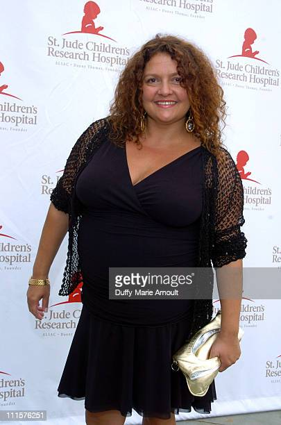 Aida Turturro during Tony Sirico and 'The Sopranos' Celebrate St Jude Children's Research Hospital July 30 2005 at Private Residence in Upper...
