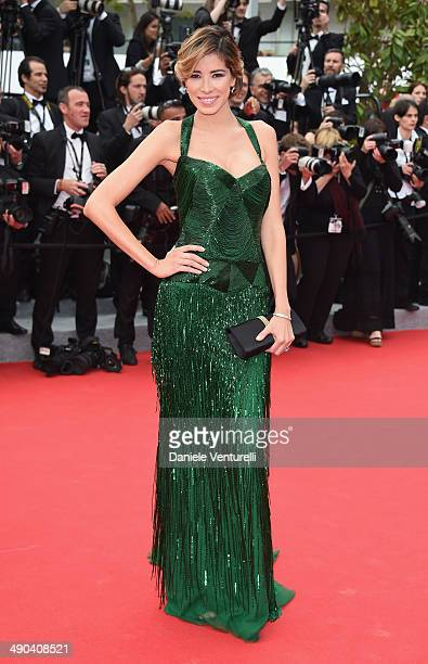 Aida Yespica attends the Opening Ceremony and the Grace of Monaco premiere during the 67th Annual Cannes Film Festival on May 14 2014 in Cannes France