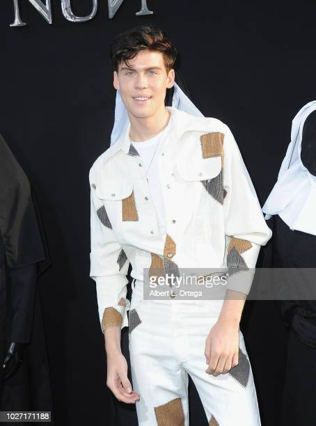 Aidan Alexander arrives the Premiere Of Warner Bros Pictures' The Nun held at TCL Chinese Theatre on September 4 2018 in Hollywood California