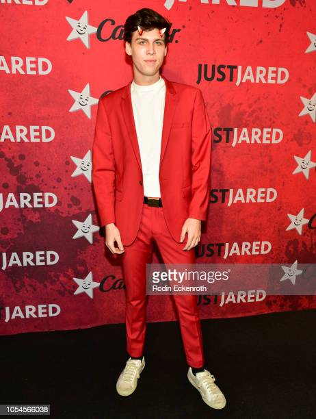 Aidan Alexander attends Just Jared's 7th Annual Halloween Party at Goya Studios on October 27 2018 in Los Angeles California