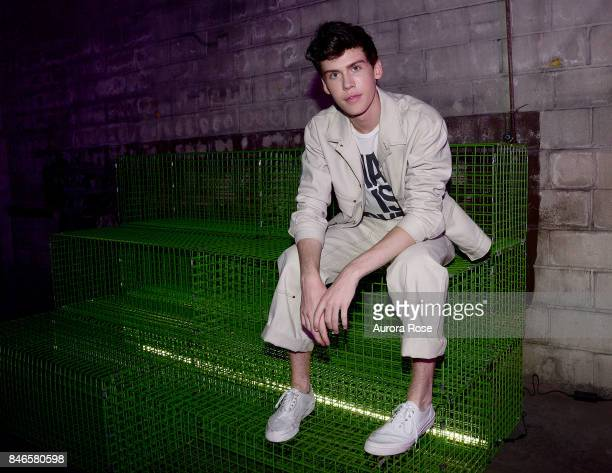 Aidan Alexander attends Refinery29's 29Rooms Turn It Into Art at 106 Wythe Ave on September 7 2017 in New York City